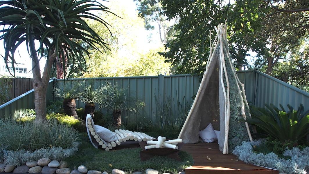 Dinosaur Garden. Design by Tamsyn MacDonald Rabey