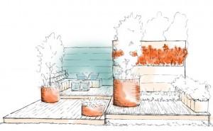 Fresh Landscape Design concept sketch