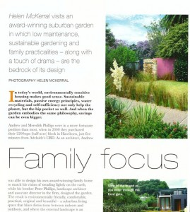 Publishing stories and photos in Your Garden magazine