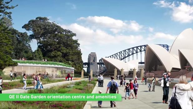 QEII Gate Sydney RBG Draft Mater Plan