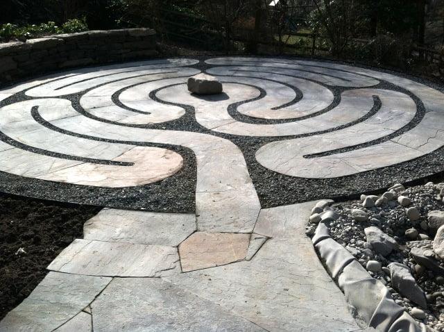 Labyrinth design Claire Jones