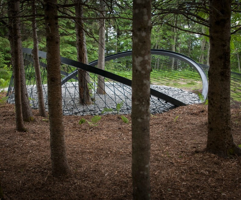 EDGE EFFECT by Snøhetta and Knippers Helbig (USA and Norway) Photo Louise Tanguay via v2com