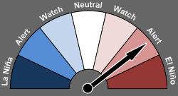Bureau of Meteorology El Nino alert