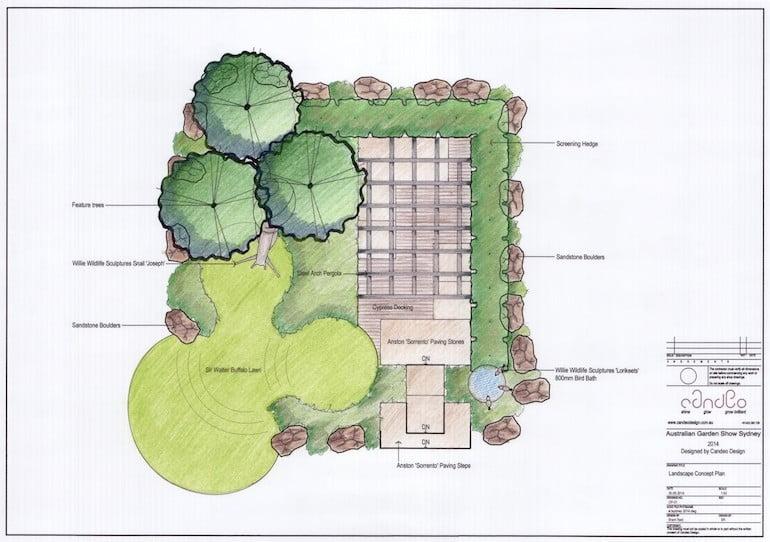Cache - Candeo Design - Australian Garden Show Sydney 2014