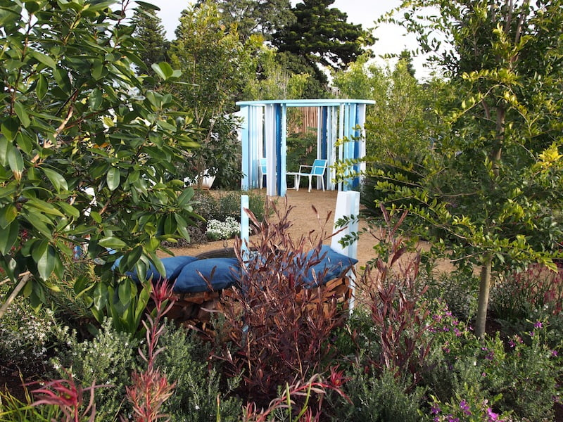 AGSS 2014 'The Unexpected Garden' for the St Vincent's Curran Foundation, designer Andrew Fisher Tomlin
