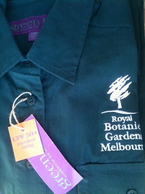 Green Hip Workwear for Women Royal Botanic Gardens Melbourne