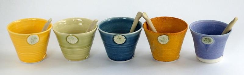Katherine Mahoney small ceramic pots