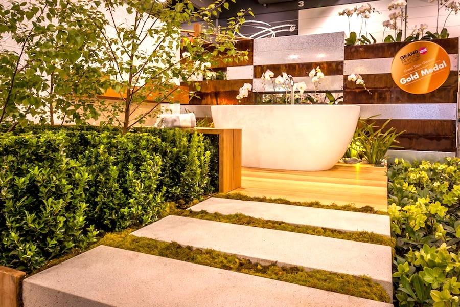'Vitality' at Grand Designs Live, Melbourne 2014. Design Stephen Read