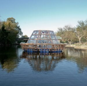 Jellyfish Barge by StudioMobile. Photo Matteo de Mayda