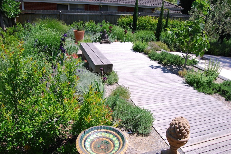 Melbourne DesignFest 2014 garden. Garden design by Stephen Read