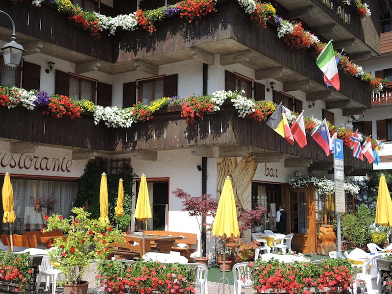 Window Boxes of the Dolomites Photo Helen McKerral04