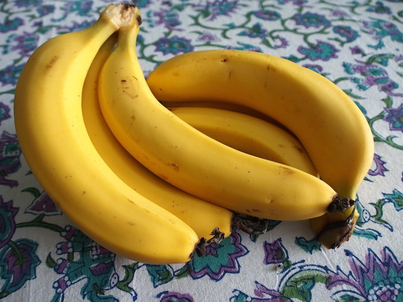 Commercially grown Cavendish bananas