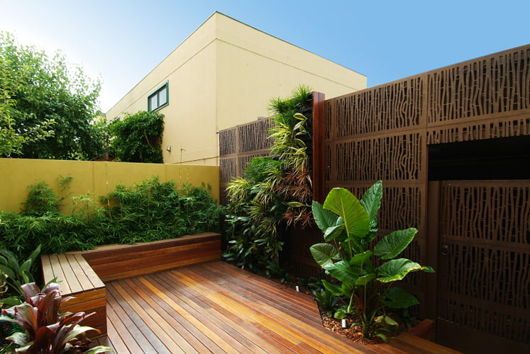 Courtyard design by Phillip Withers Landscape Design