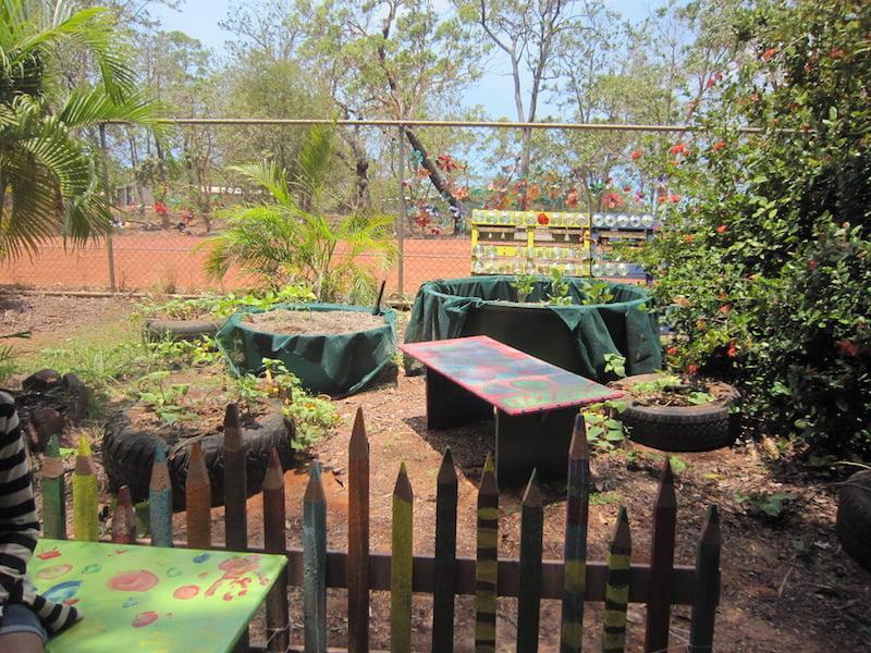 Best Waterwise Garden Shepherdson College eduGrow 2014 wicking beds