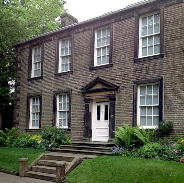 Haworth Parsonage, home of the Brontë family