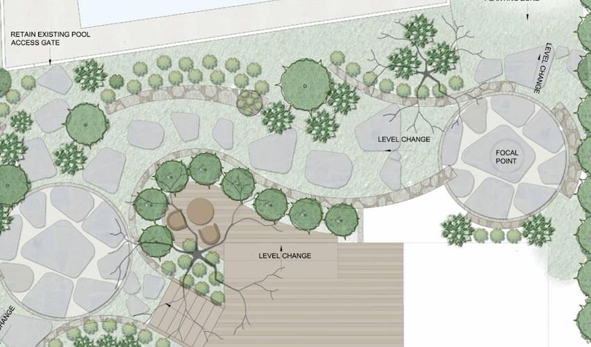Landscape Concept Plan by Outhouse Design