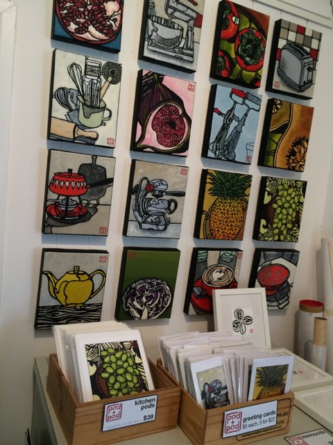 Pod and Pod: range of small kitchen and fruit pods, and cards