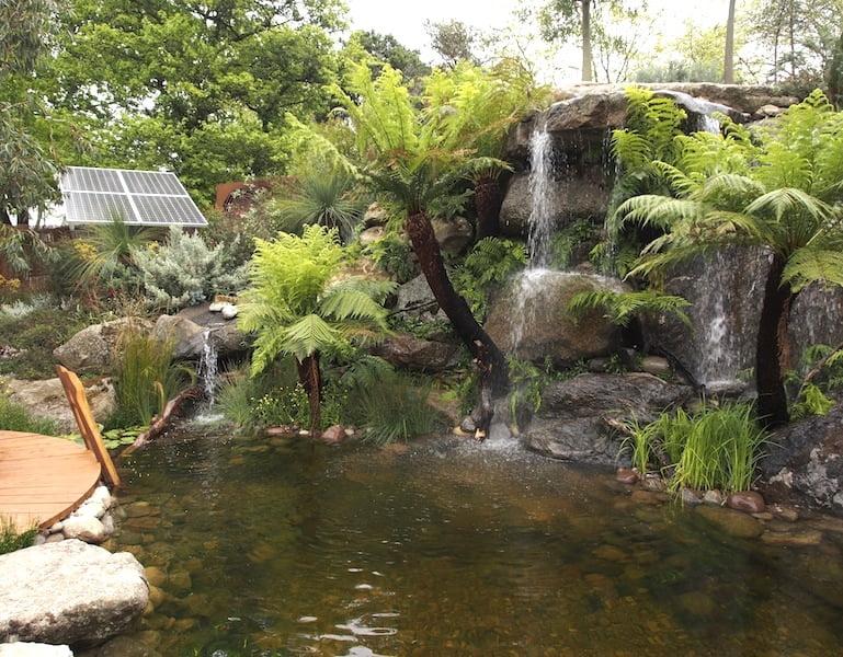 Trailfinders Australian garden presented by Flemings Design Phillip-Johnson Chelsea Flower Show 2013