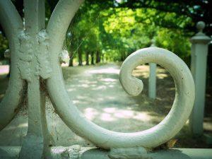 Wombat Park gate detail