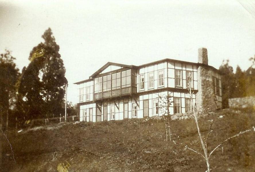 Mawarra: the new house. Photo courtesy John Champion