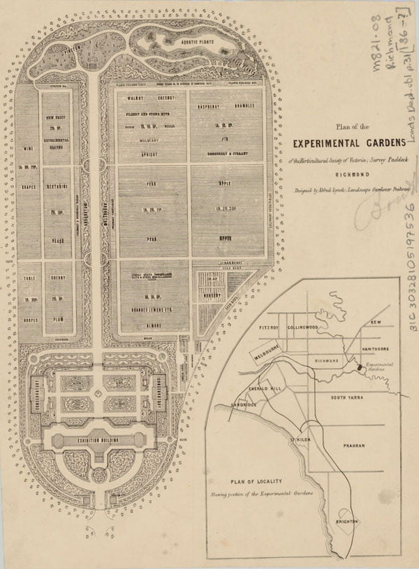 Lynch Plan c1861 (courtesy Burnley Archives)