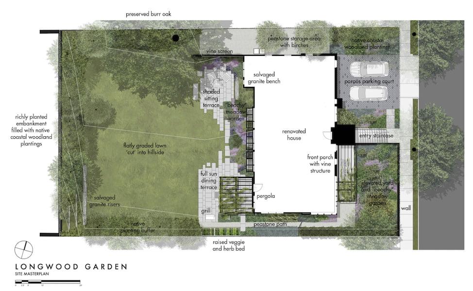 Landscape Plan Matthew Cunningham Landscape Design LLC Longwood garden