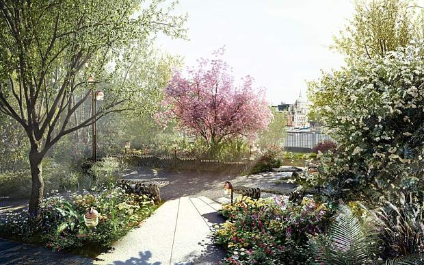 Londons Garden Bridge GardenDrum