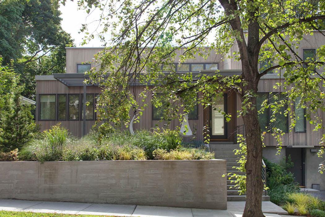 New home and entrance Matthew Cunningham Landscape Design LLC Longwood garden