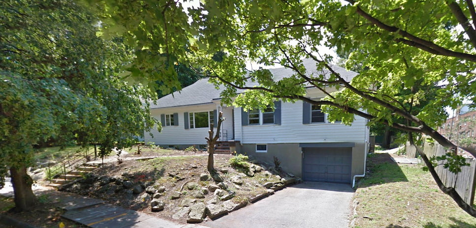 Original home and entrance Matthew Cunningham Landscape Design LLC Longwood garden