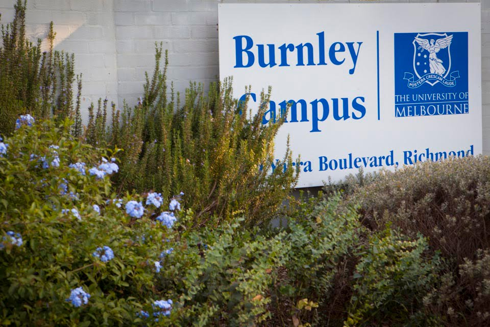 Burnley Yarra boulevard Campus entrance  (Andrew Smith)