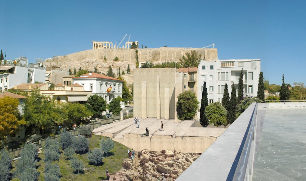 Doxiadis+ design for Acropolis environs