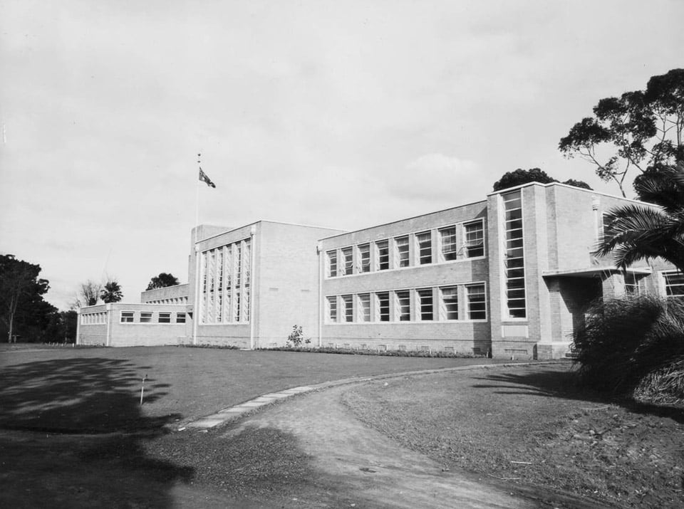 The general response to the Percy Everett designed Art Deco building was that it was 'ugly': Photo courtesy Burnley Archives