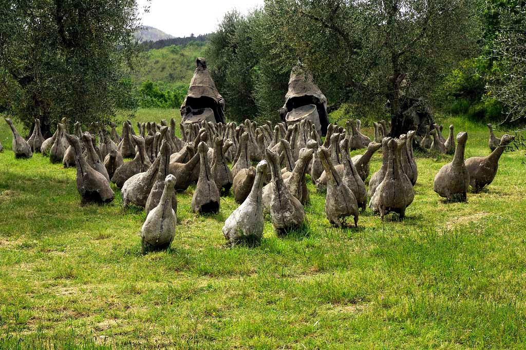 Daniel Spoerri garden, Seggiano, Tuscany