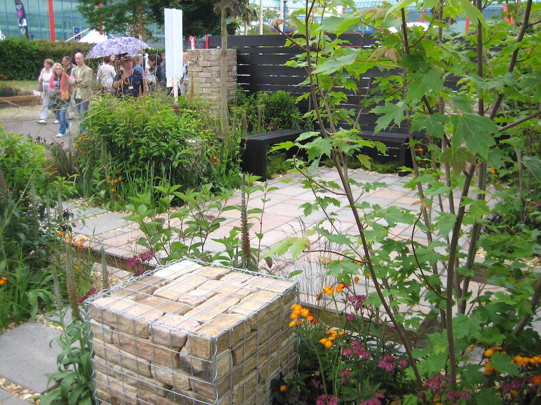 'Slow Burn' Design Sid Stratton and Bridget Robinson. BBS Gardeners' World Live 2015