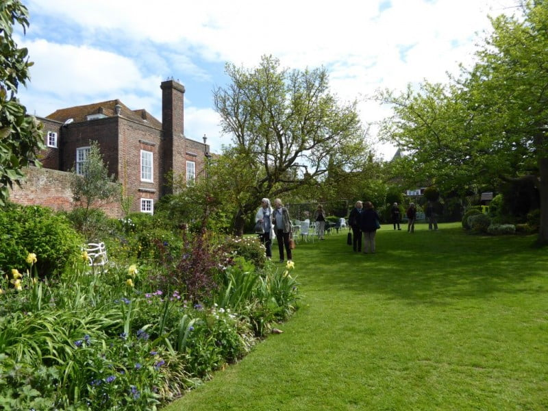 The garden at Lamb House, bought by Henry James in 1899. Photo Cate Gleeson