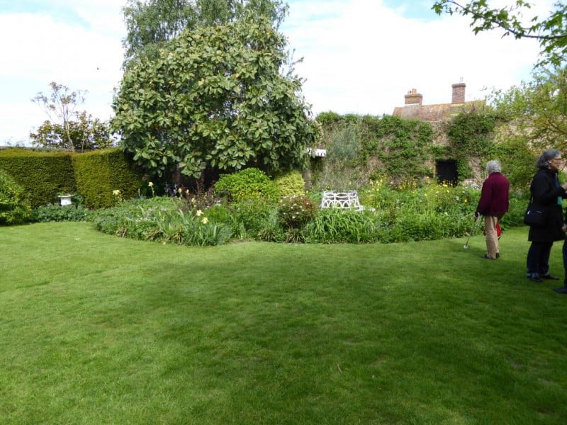 The garden at Lamb House once owned by Henry James. Photo Cate Gleeson