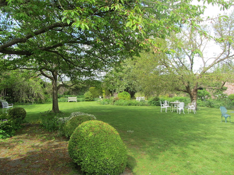 The garden at Lamb House, bought by Henry James in 1899