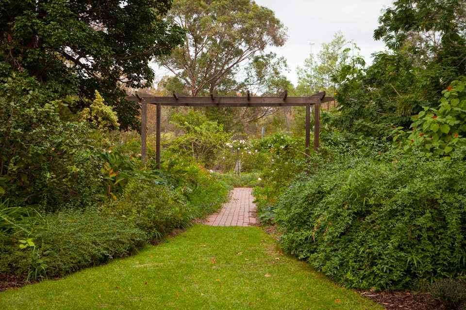 Entrance to the Rose Garden (Anne Vale)
