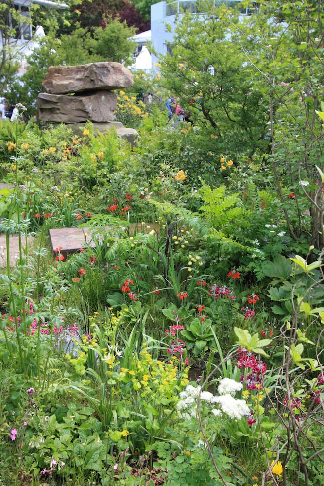 Stunning naturalistic planting by Dan Pearson at Chelsea 2015. Photo The Frustrated Gardener