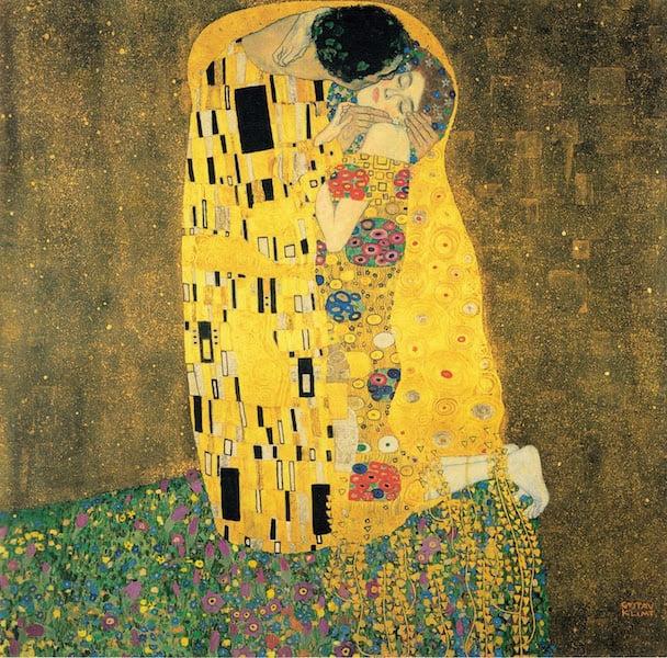 Der Kuss by Gustav Klimt