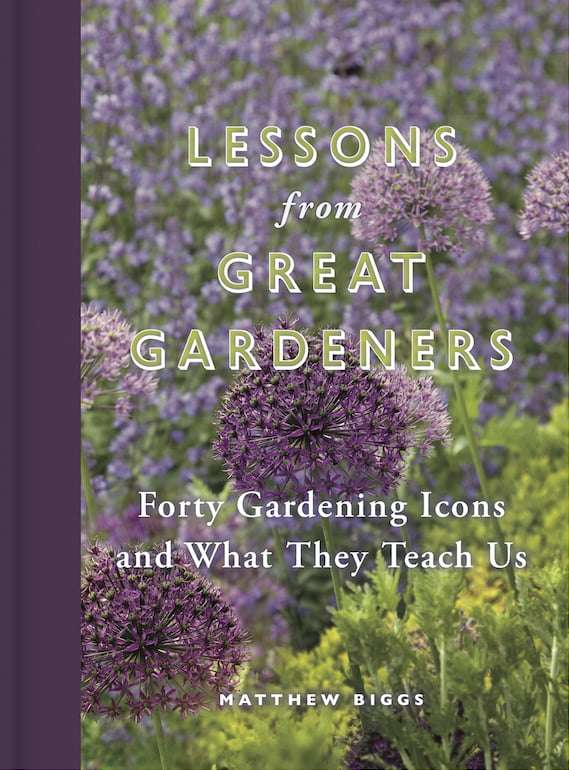 Lessons from Great Gardeners cover