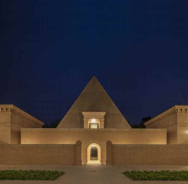 The pyramidal chapel. Photo Mauro Davoli