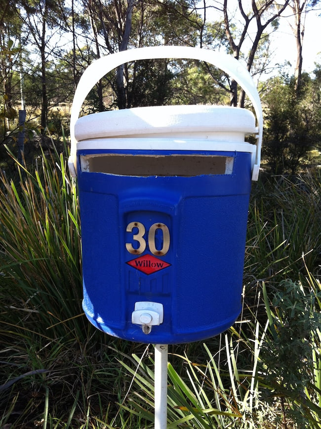 Drinks cooler letterbox