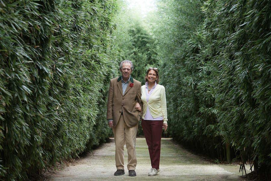 Franco Maria Ricci and Laura Ricci ©yannmonel