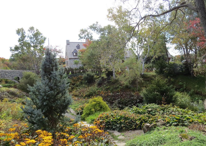 La Seigneurie garden