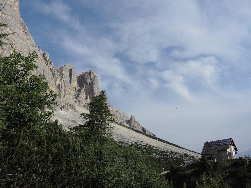Rifugia Venezia in the Dolomites