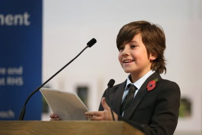 George Hassall RHS Young Ambassador 2015