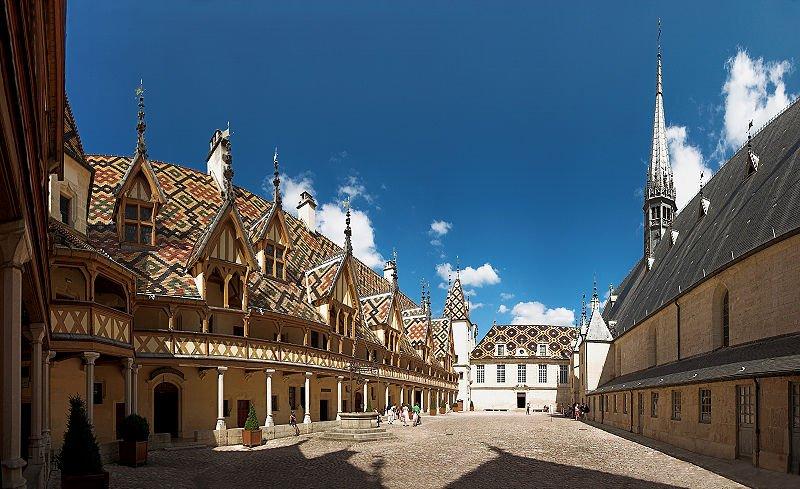 Hotel Dieu in Beaune, France. Photo Stefan Bauer