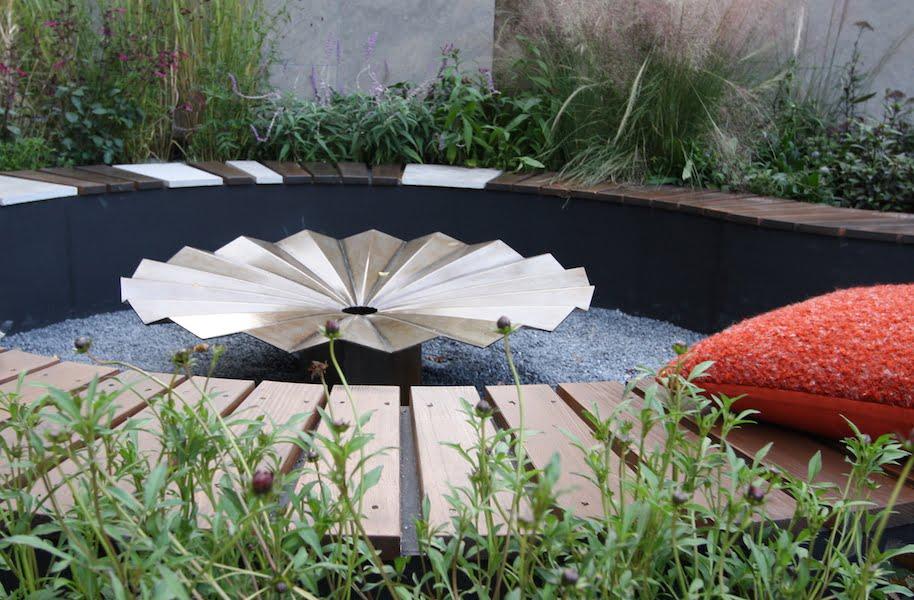 Fire Pit Detail In The Tea Garden Design Ross Uebergang Japan World Flower  And Garden Show