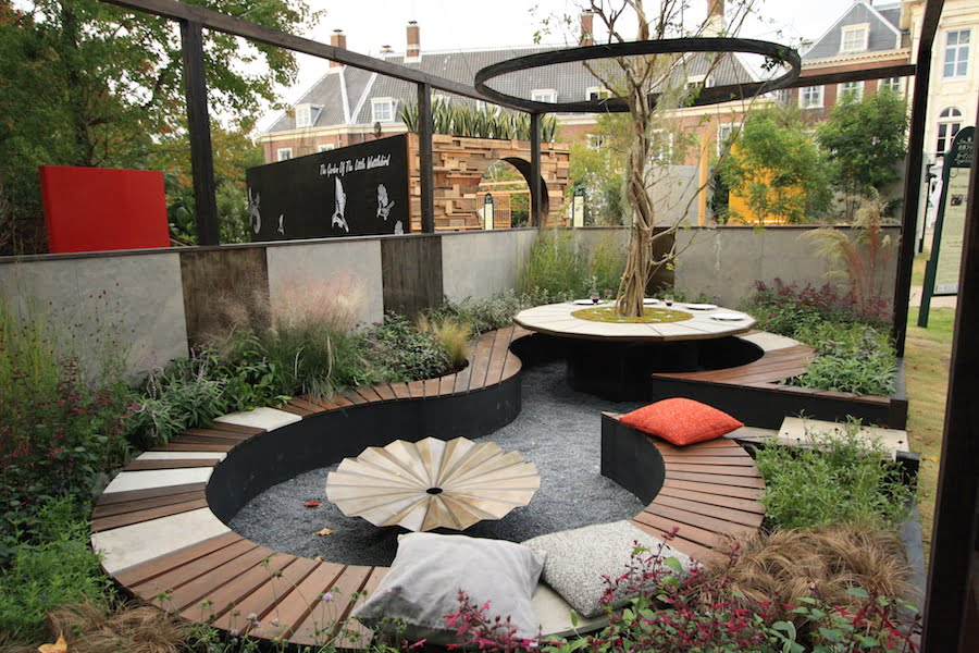 The Tea Garden Design by Ross Uebergang at Japan World Flower and Garden Show 2015